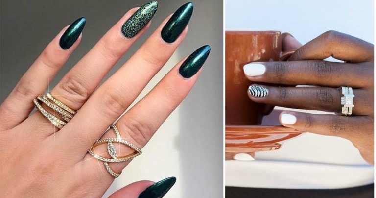 How to combine rings and manicure