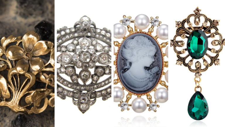 Top 10 best selling antique Brooches You discover