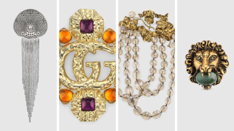 10 Classic Brooch Gucci you should know