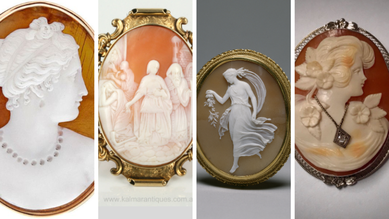 5 Easy ways to know original Cameo Brooches