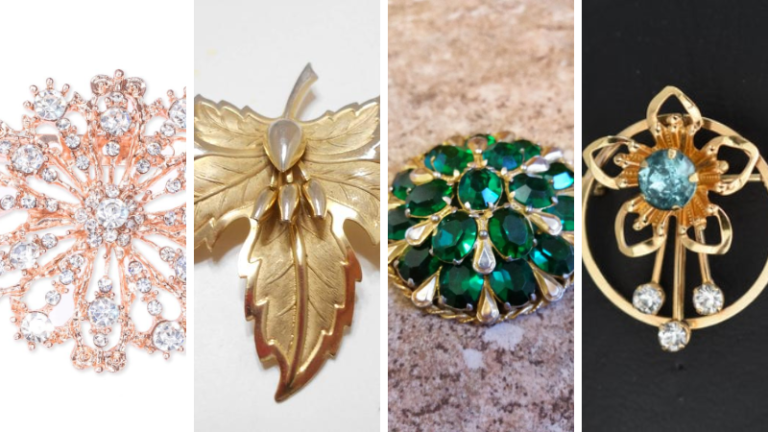 5 Factors to consider before picking Gold Brooches