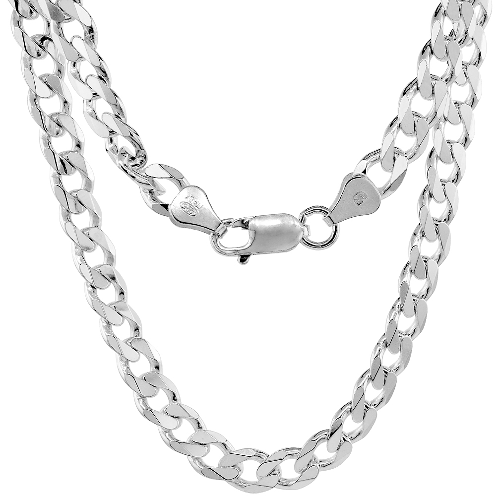 20 TOP BEST SELLING SILVER CUBAN LINK CHAIN