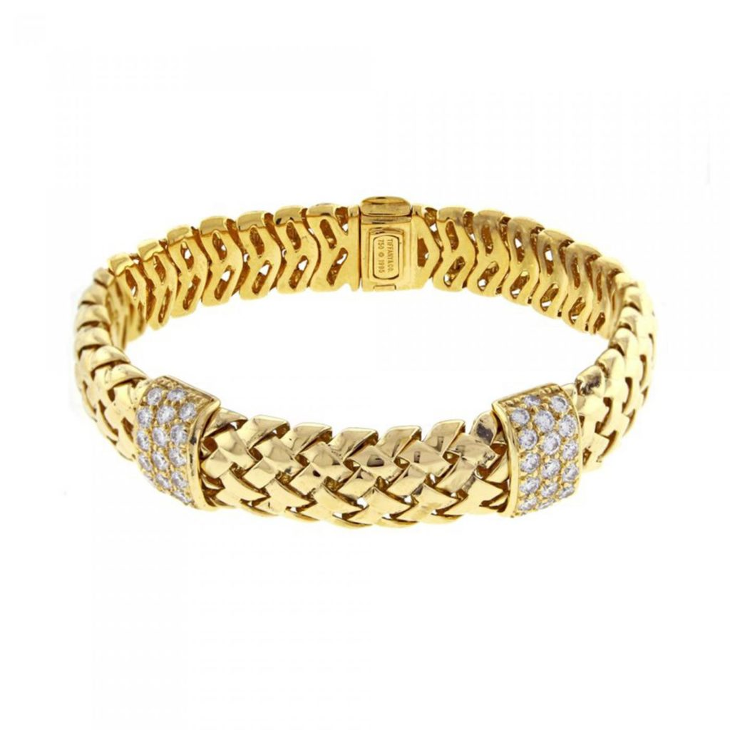 Tiffany & Co. Gold Woven-Link