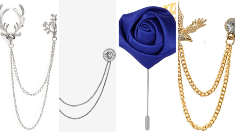 Top 10 Most gorgeous  Brooches for Men