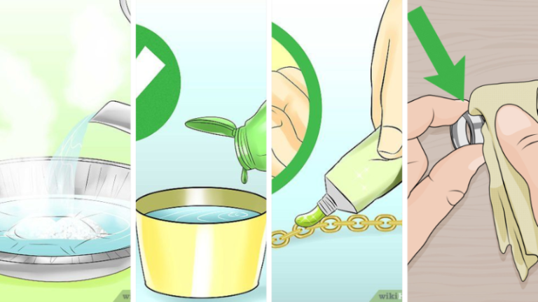 Top 3 Tested Method : How to clean a Silver Chain
