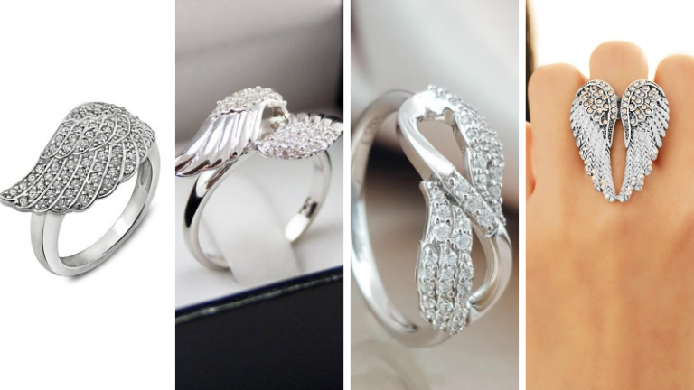 Top 10 Angels Wing Rings for women