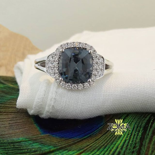 Zoma Color is more than Jewelry; it's a lifestyle. — Grey spinel is so HOT🔥🔥🔥! This one was recently…