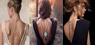 Deck your back with necklaces!