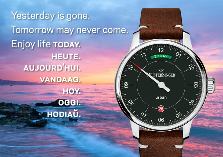 """MeisterSinger unveils the Urban Day Date """"Edition Today"""""""