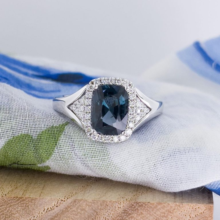Zoma Color is more than Jewelry; it's a lifestyle. — We are enamored with the elusive blue spinel. Does…